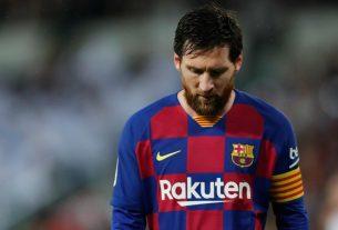 Lionel Messi Ragu Barcelona