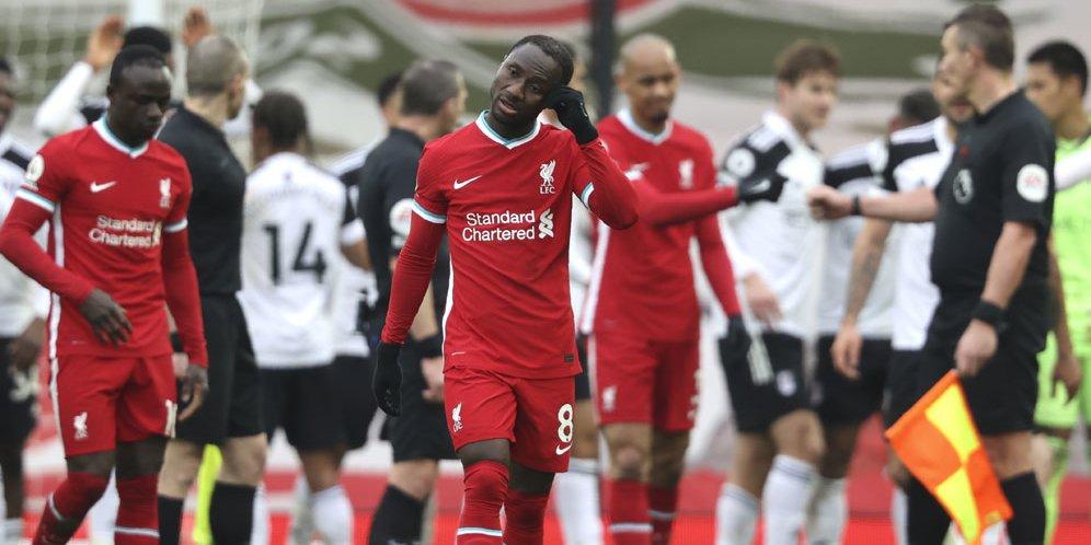Liverpool Ditekuk Fulham