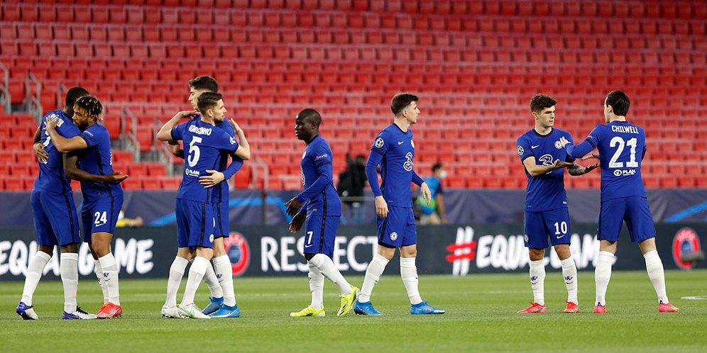 Real Madrid Jumpa Chelsea