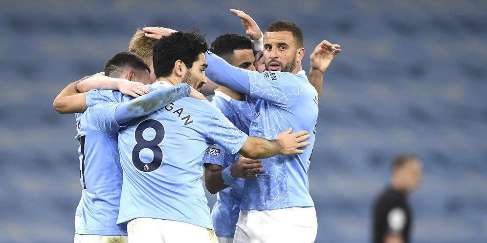Manchester City Ukir Kemenangan