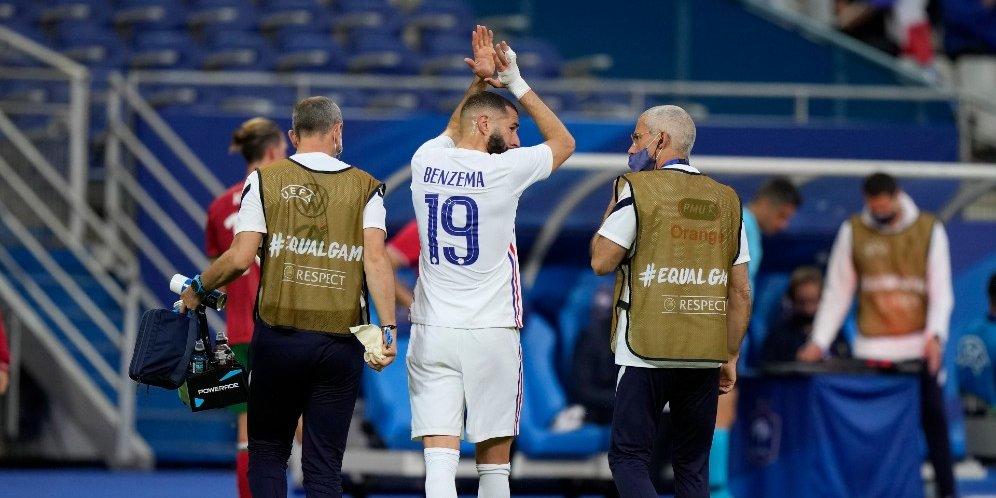 Karim Benzema Cedera