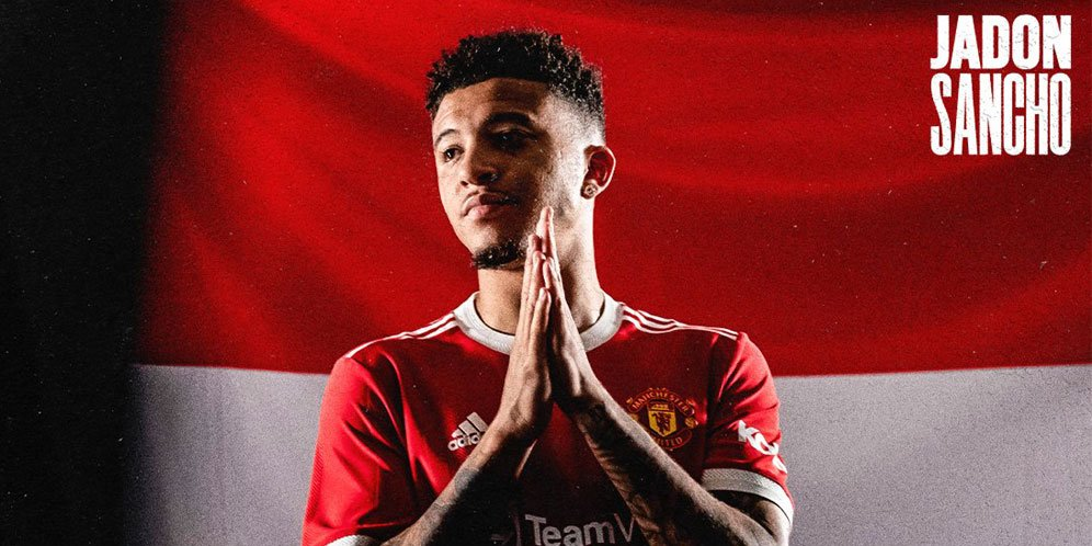 Sancho Gabung Manchester United