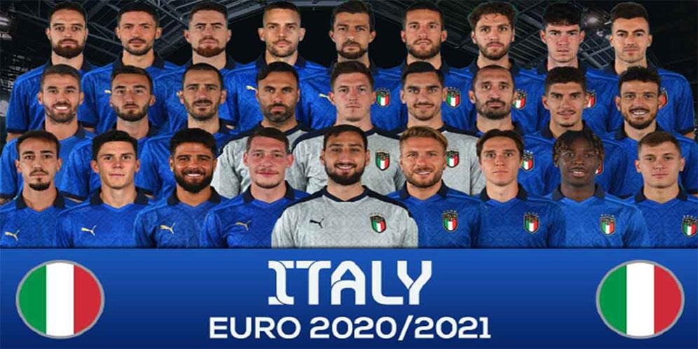 5 Wajah Baru Timnas Italia